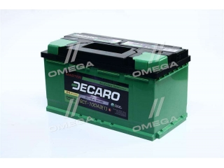 Аккумулятор 100Ah-12v DECARO MASTER (353х175х190), L,EN800 DECARO