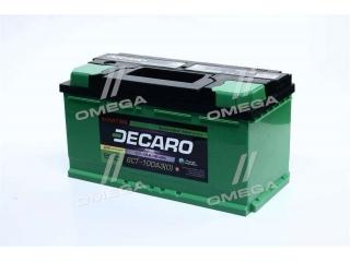 Аккумулятор 100Ah-12v DECARO MASTER (353х175х190), R,EN800 DECARO