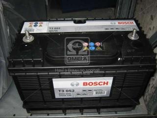 Аккумулятор 105Ah-12v BOSCH (T3052) (330x172x240),L,EN800 BOSCH