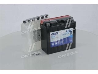 Аккумулятор 12Ah-12v Exide AGM (ET14B-BS) (150х70х145) L, EN190 EXIDE