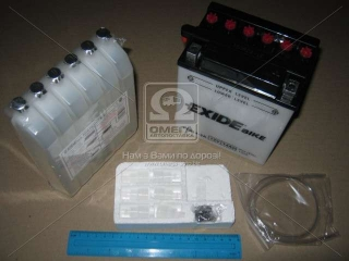 Аккумулятор 14Ah-12v Exide (12N14-3A) (134х89х166) R, EN130 EXIDE