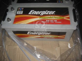 Аккумулятор 170Ah-12v Energizer CP (513х223х223), L,EN1000 Energizer