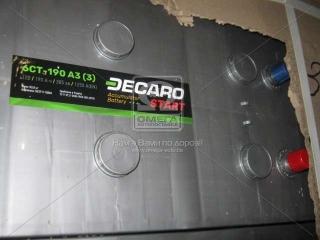 Аккумулятор 190Ah-12v DECARO START(513х223х217), L,EN1250 DECARO