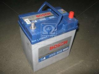 Аккумулятор 40Ah-12v BOSCH (S4018) (187x127x227),R,EN330( Азия) тонк.клеммы BOSCH
