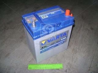Аккумулятор 40Ah-12v VARTA BD(A14) (187х127х227),R,EN330 тонк.клеммы VARTA
