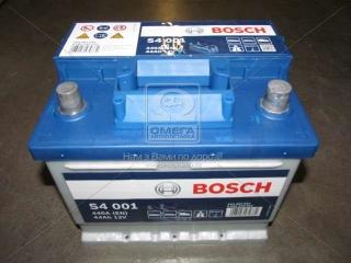 Аккумулятор 44Ah-12v BOSCH (S4001) (207x175x175),R,EN440 BOSCH