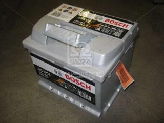 Аккумулятор 52Ah-12v BOSCH (S5001) (207x175x175),R,EN520