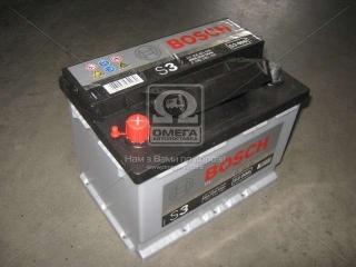 Аккумулятор 56Ah-12v BOSCH (S3006) (242x175x190),L,EN480 BOSCH