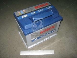 Аккумулятор 60Ah-12v BOSCH (S4006) (242x175x190),L,EN540 BOSCH