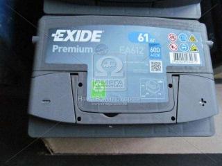 Аккумулятор 61Ah-12v Exide PREMIUM(242х175х175),R,EN600 EXIDE