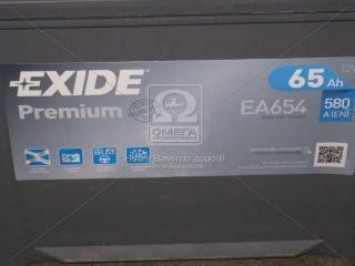 Аккумулятор 65Ah-12v Exide PREMIUM(230х173х222),R,EN580,Корея EXIDE