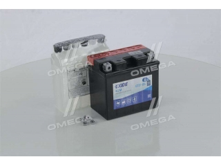 Аккумулятор 6Ah-12v Exide AGM (ETZ7-BS) (113х70х105) R, EN100 EXIDE