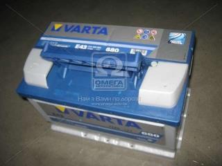 Аккумулятор 72Ah-12v VARTA BD (278х175х175), R, EN 680 VARTA