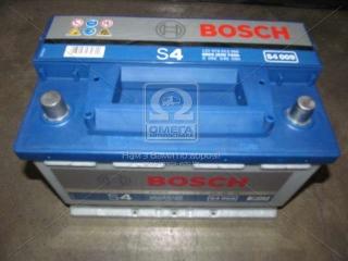 Аккумулятор 74Ah-12v BOSCH (S4009) (278x175x190),L,EN680 BOSCH
