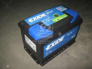 Аккумулятор 74Ah-12v Exide EXCELL(278х175х190),R,EN680 EXIDE