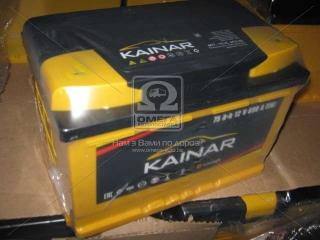 Аккумулятор 75Ah-12v KAINAR Standart+ (278x175x190),R,EN690 KAINAR