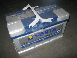 Аккумулятор 80Ah-12v VARTA BD(F17) (315х175х175),R,EN740 VARTA