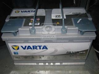 Аккумулятор 80Ah-12v VARTA Start-Stop Plus AGM (315х175х190), R, EN 800 VARTA