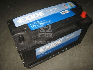 Аккумулятор 90Ah-12v Exide CLASSIC(353х175х190),R,EN720 EXIDE