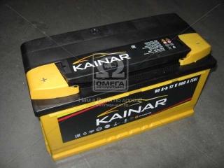 Аккумулятор 90Ah-12v KAINAR Standart+ (353х175х190),L,EN800 KAINAR