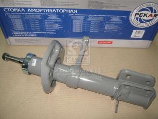 Амортизатор ВАЗ 2170-2172 ПРИОРА (стойка) левая (масл.) двухтрубный передний (покупн. Пекар) ПЕКАР