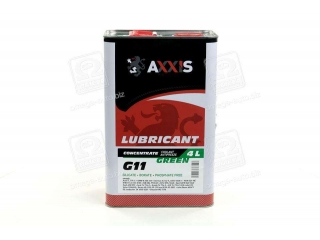 Антифриз <AXXIS> GREEN концентрат G11 (-80C) (Канистра 4л) AXXIS Польша