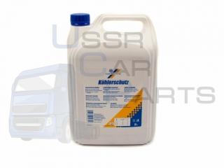 Антифриз G11 концентрат -80 CARTECHNIC (синий) 5 литров