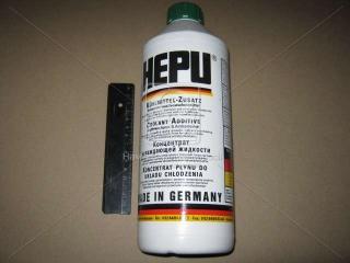 Антифриз HEPU G11 FULL GREEN (Канистра 1,5л) HEPU