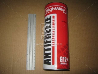 Антифриз HighWay ANTIFREEZE-40 LONG LIFE G12+ (красный) 1кг HIGHWAY