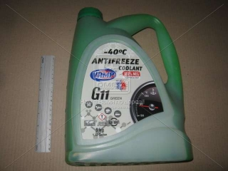 Антифриз зеленый G11 ВАМП (МЭГ) кан. п/э 5л ВАМП