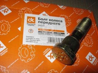 Болт колеса КАМАЗ <ЕВРО> переднего (М22) <ДК> Дорожная карта