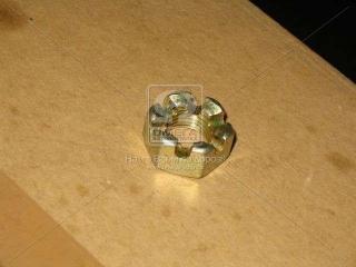 Гайка М12х1,25 коронч. підвіски радіатора КамАЗ (вир-во Белебей) (Ом)