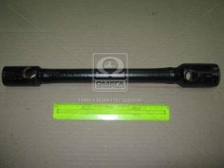 Ключ балонный ГАЗЕЛЬ, КАМАЗ (24х27) (усиленн.) L=370 мм (пр-во г.Павлово) Россия