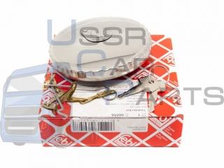Кришка баку паливного напівобертна КАМАЗ (метал) з ключем та ціпком 80мм (FEBI ) (Ом) FEBI