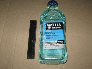 Омыватель стекла зим. Мaster cleaner -20 Морск. бриз 1л Master cleaner