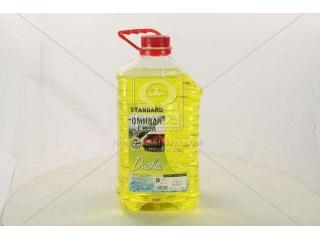 Омыватель стекла зимний -20 STANDARD Dushes желт. (канистра 4л) <ДК> Дорожная карта