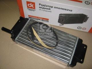 Радиатор отопителя КамАЗ (2-х рядн.) <ДК>