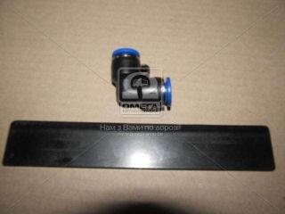 Соединитель аварийный угловой 10х10 пласт. трубки ПВХ (RIDER) RIDER