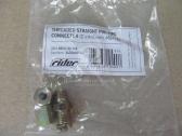 Соединитель трубки ПВХ прямой резьбовой (Dвнут.=4мм, М8х1,5) (RIDER) RIDER RD01.02.148
