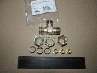 Соединитель трубки ПВХ тройник резьбовой (Dвнут.=12мм, М18х1,5) (RIDER) RIDER